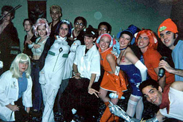 Our first event: The Wasabi Anime Halloween Party in Orlando, Florida in 2001.